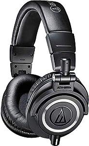 Audio-Technica ATH-M50x Professional Headphones, Black