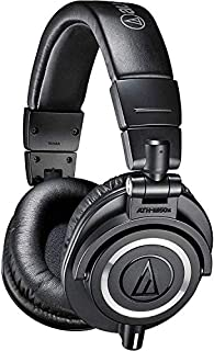 Audio-Technica ATH-M50x Professional Headphones, Black (B00HVLUR86) | Amazon price tracker / tracking, Amazon price history charts, Amazon price watches, Amazon price drop alerts