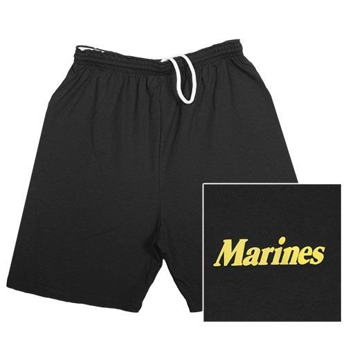 (Fox Outdoor Products Marines Running Shorts, Black, 3X-Large)