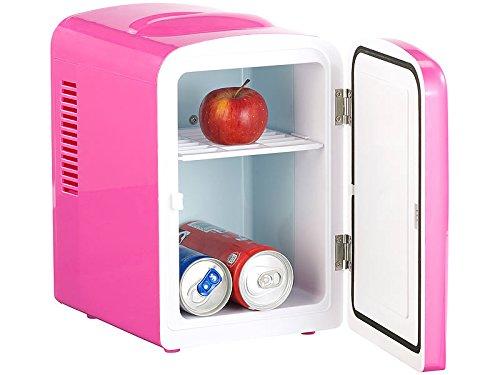 Mini Kühlschrank Pink : Mini kühlschrank 4l mit warmhalte funktion ac dc 12 230v pink