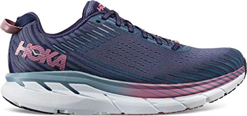 Hoka One One Clifton 5 Trail Running Shoe - Women's Marlin/Blue Ribbon 9 from HOKA ONE ONE