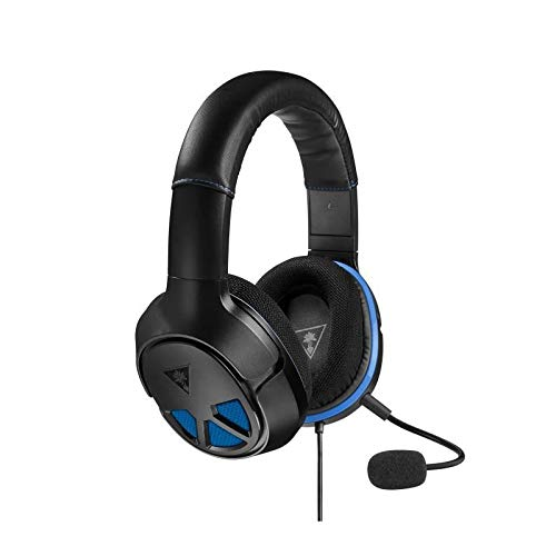 Black Headset Clearchat - Turtle Beach Recon 150 PS4 Pro, PS4, Xbox One, PC, Mac and Mobile Compatible Wired Gaming Headset, Black