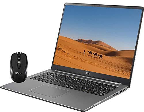 """2020 Newest LG Ultra PC 17 Lightweight Laptop 17"""" WQXGA Retina Display Intel 4-Core i5-10210U(Beats i7-8550U) 16GB RAM 512GB SSD 256GB SD Card NVIDIA GTX 1650 Backlit Win 10 +iCarpWirelessMouse"""