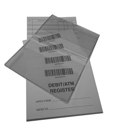 amazon com debit registers covers mini atm checkbook registers