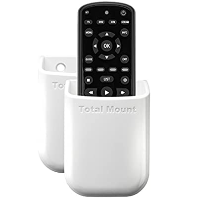 TotalMount Universal Remote Holder - White