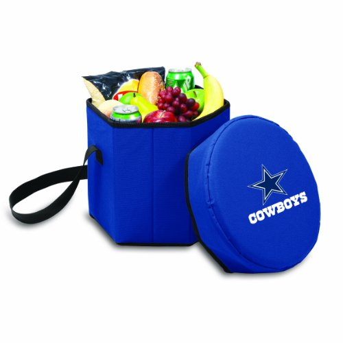 NFL Dallas Cowboys Bongo Insulated Collapsible Cooler, Navy