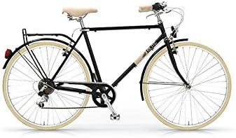 hombre rueda de 28 6 velocidades MBM Elite Bicicleta de paseo dise/ño vintage cl/ásico