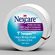 Nexcare Flexible Clear First Aid Tape, Tears Easily