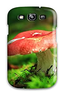 Myra Fraidin's Shop New Arrival Case Cover With Design For Galaxy S3- Red-capped Mushroom 8467190K94445515