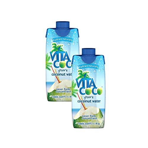 Vita Coco Pure Coconut Water - 12 pack, 11.1 fl oz cartons (Pack of 2)