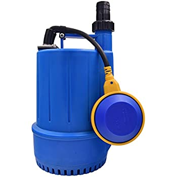 Songjoy 1 2 hp submersible sump pump 2250gph utility water pump with float switch for swimming for Can head lice transfer in swimming pools