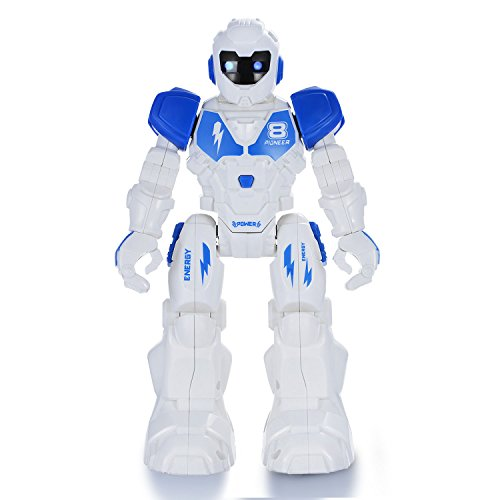 Yeesn Remote Control Robot Toys, RC Robot kit Walking Singing Dancing Sliding Smart Programmable Robotics for Kids...