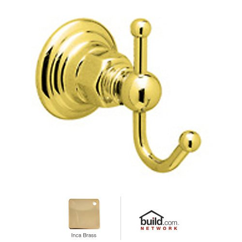 Rohl Inca Brass Country Bath Robe Hook Hook