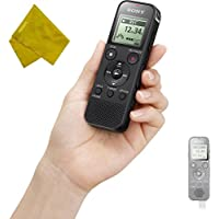 Sony ICD-PX470 Stereo Digital Voice Recorder with Built-In USB - Record Lectures, Meetings, Dictations, Seminars in PCM Linear & MP3 Formats + HDStars Bonus