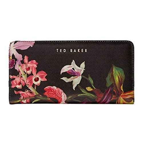 Ted Baker Imberi Lost Gardens Popper Cross Hatch Matinee Wallet ()