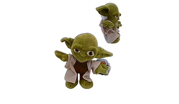 Yoda Jedi Master 27cm Muñeco Peluche Pelicula Star Wars Suave Nuevo Alta Calidad Serie Lucas films Coleccion Original Disney: Amazon.es: Juguetes y juegos