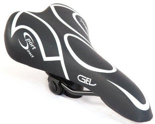 Sport Direct自転車自転車サイクル快適Gelサドルメンズ用by Sport Direct   B01LFMK4MA