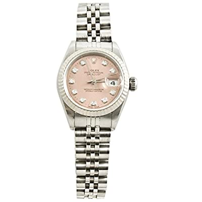 Rolex Datejust automatic-self-wind womens Watch 69174JSALD (Certified Pre-owned)