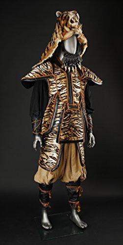 Original Movie Prop - 47 Ronin - Tiger Samurai Warrior Costume - Authentic - Original Movie Props And Costumes