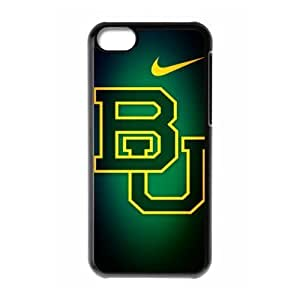 Sports Just Do It Design 11 NCAA Baylor Bears logo Print Black Case With Hard Shell Cover for Apple iPhone 5C