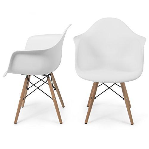 Belleze Century Modern Armchair Chairs