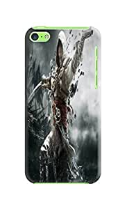 Custom Lightweight Waterproof Cool Assassin's Creed fashionable TPU Phone Protector Cover for iphone 5c