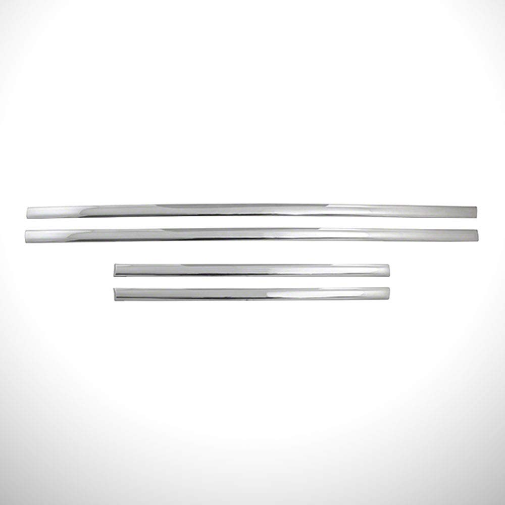 Chrome Side Molding Trim fit for 14-18 GMC Sierra 1500 Extended Cab