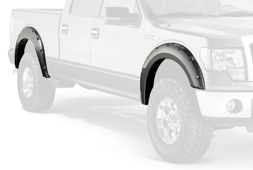 Bushwacker 20929-02 Ford Pocket Style Fender Flare - Set of 4 ()