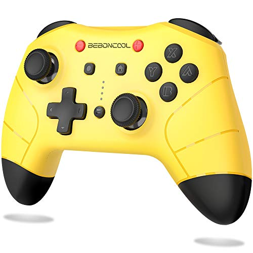 BEBONCOOL Switch Controller for Nintendo Switch, Switch Gamepad Supports Turbo & Adjustable Dual Shock Function-Wireless Controller Compatible with Bluetooth