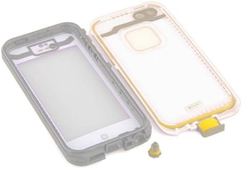 Funda Carcasa Impermeable Sumergible Antipolvo Anti Golpe para iPhone 5 Blanco: Amazon.es: Electrónica