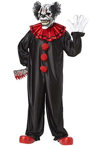 California Costumes Last Laugh The Clown Set, Black/Red, One (Clowns Costumes)