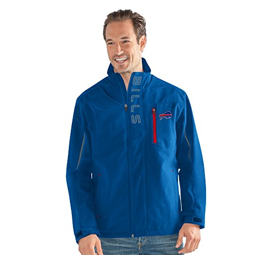 G-III Sports NFL Buffalo Bills Adult Men Energy Soft Shell Full Zip Jacket, Large, (Buffalo Bills Mens Jackets)