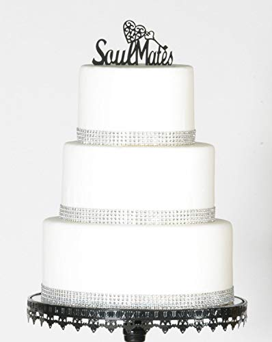 Soul Mate Wedding Cake Topper Soul Mates Cake Topper Soulmate Soulmates Heart And Key Best Friend True Love Fate ()