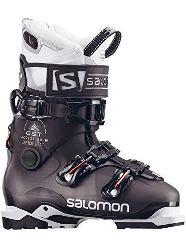 Salomon QST Access Custom Heat Ski Boots Womens Sz 6.5 (23.5)