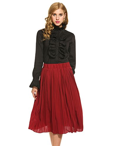 acevog-women-vintage-styles-stand-collar-long-sleeve-solid-ruffle-shirts-blouses