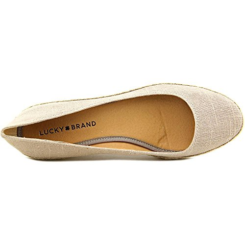 Lucky Brand Mujeres Tilly Lino Tela Tobillo-high Lienzo Zapato Plano Zapato