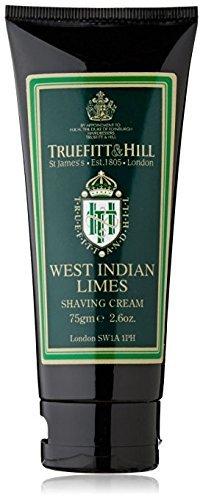 Truefitt & Hill West Indian Limes Shaving Cream Travel Tube (2.6 oz) by Truefitt & - West Mall Palm