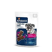 Advance Snacks Senior +7 años Snack para Perro - Paquete de 7 x 150 gr - Total 1050 gr