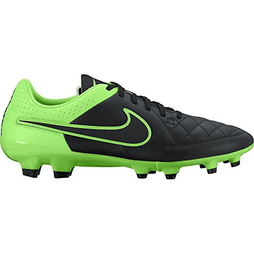Scarpe Tiempo Strike Uomo Calcio Genio Fg green Black Da Leather Nike nP1Xqx44