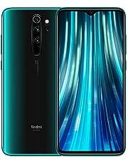 """Redmi Note 8 Pro– Smartphone con Pantalla 6,53"""" FullHD+ (Cuatro cámaras de 64 + 8 + 2 + 2 MP, Frontal 20 MP, 4500 mAh, Jack de 3,5 mm, MTK Helio G90T Octa-Core, 6 + 128 GB) Verde [Versión española]"""