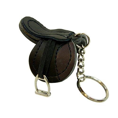 Intrepid International English Saddle Key Chain