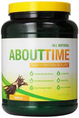 SDC Питание О времени изолят сывороточного протеина, ваниль, 2 фунта