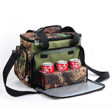 Generic camouflage color Portable refrigerazione pranzo al sacco isolamento termico food picnic borse borse da viaggio