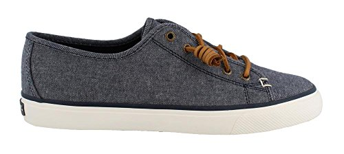 Top Sider Fashion Sperry Chambray Navy Seacoast Women's Sneaker 5dw1n14x
