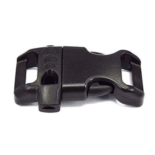 Contoured Emergency Survival Paracord BraceletsBlack product image
