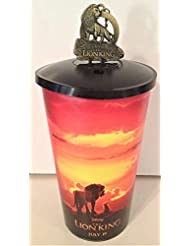 Disney: Lion King 2019 Movie Theater Exclusive Cup Topper Key Chain With 44 oz Cup