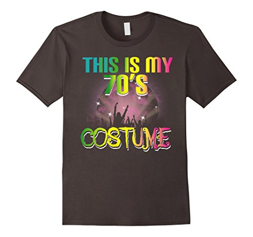This Is My 70s Costume Halloween T Shirt 1970s Gift Tees