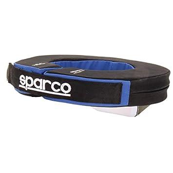 Amazon.com: Sparco 001602 aznr-b Negro/Azul Collar anatómica ...