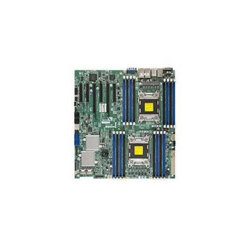 SuperMicro MBD-X9DR7-LN4F-B - LGA2011 Intel C602 Chipset EATX Server Motherboard DDR3 SATA/SAS VGA PCIE3.0 Gigabit LAN ()