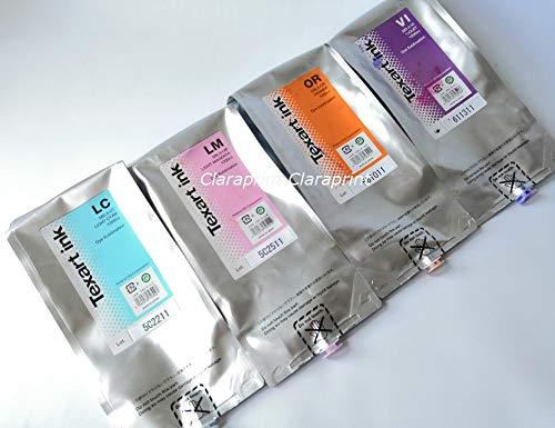 Printer Parts Original Yoton Texart SBL3 Ink Dye Sublimation Ink for RT-640 XT-640 1000ml Bag - (Color: Light Magenta)